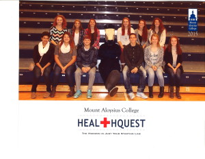 DCC's Med Tech Class at Mount Aloysius College