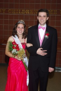DCC's Homecoming Queen & Escort