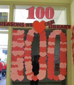 100 Reasons We Love Our Library