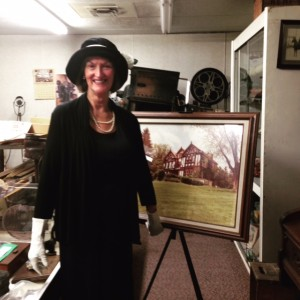 Mrs. C Speaks at Historical Society Event