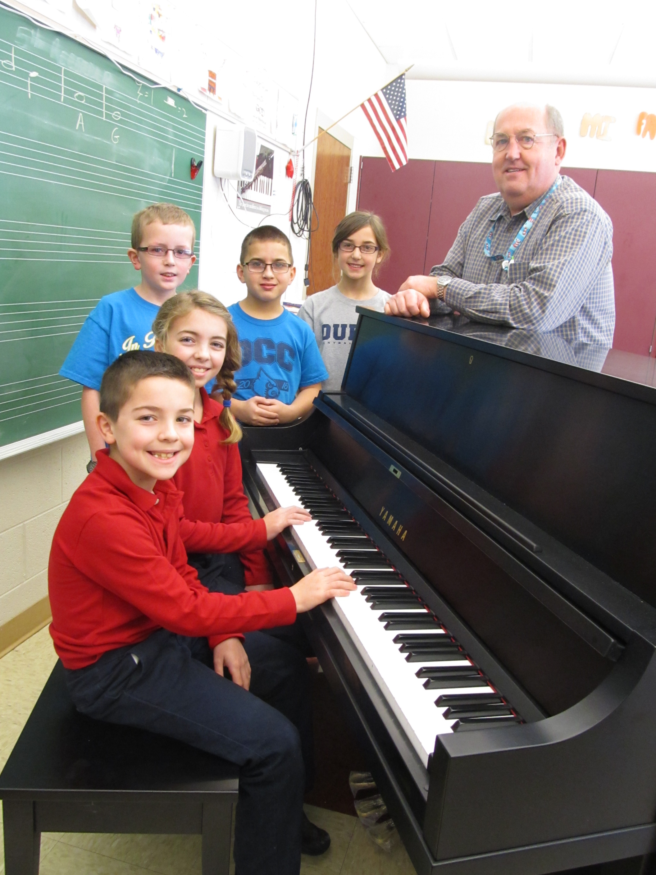 New Piano For Elementary Music Department Dubois Central
