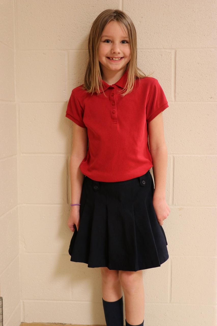 True answer 6th grade girls skirts